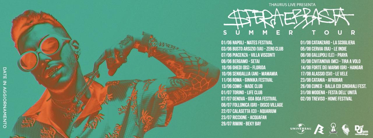 SFERA EBBASTA SUMMER TOUR