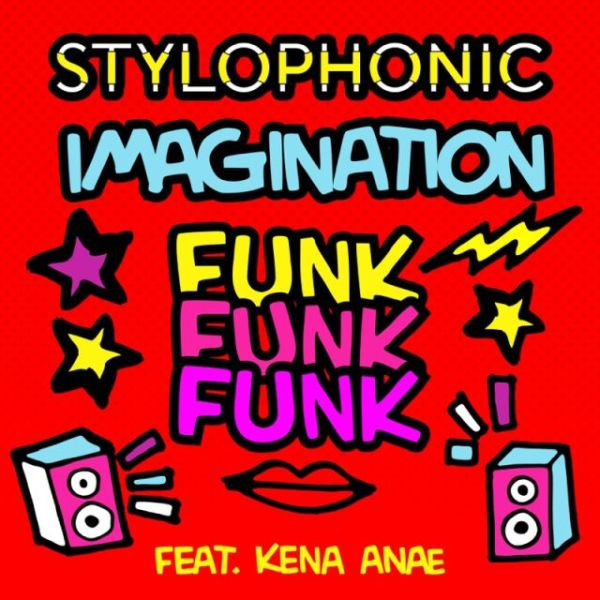 "Cover singolo ""IMAGINATION FUNK FUNK FUNK"""