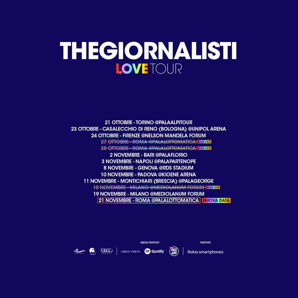 TheGiornalisti - Terza Data Roma