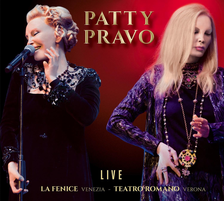 Copertina doppio album Patty Pravo 2018