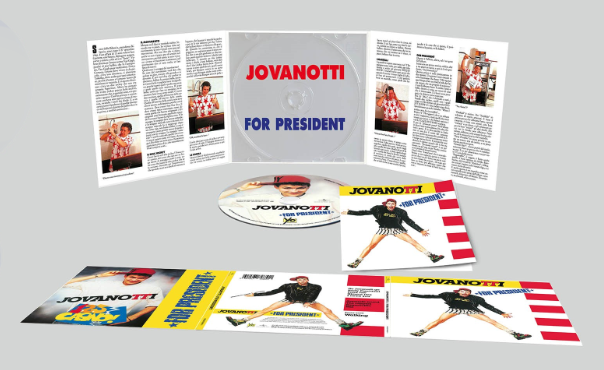 Jova For President CD 3D