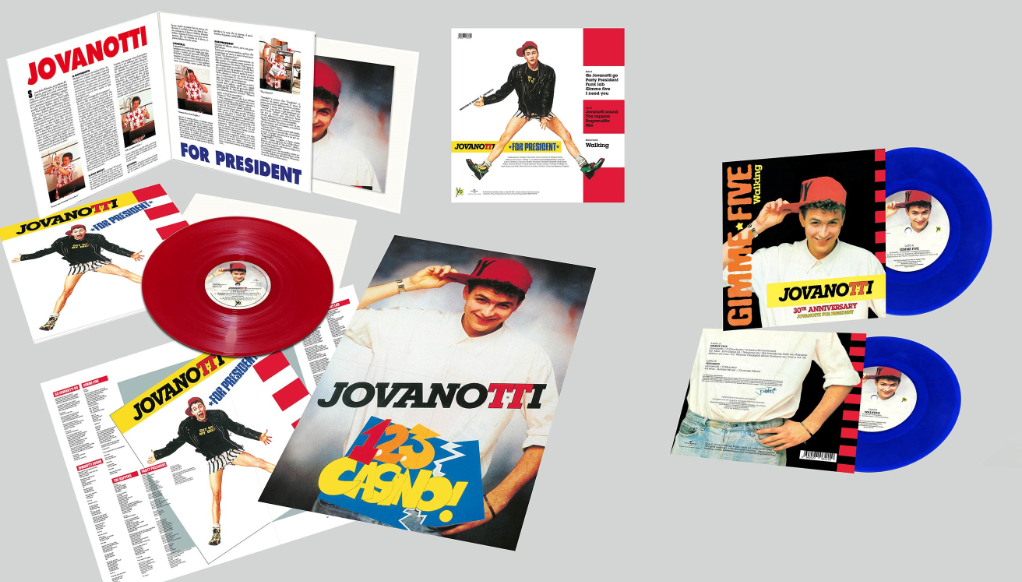 Jova For President LP + single 3D