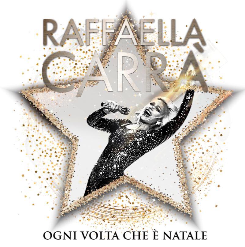 RAFFAELLA CARRA'_copertina disco OGNI VOLTA CHE E' NATALE